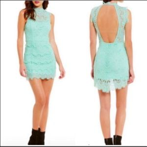 Free People Daydreamer lace bodycon dress 5194